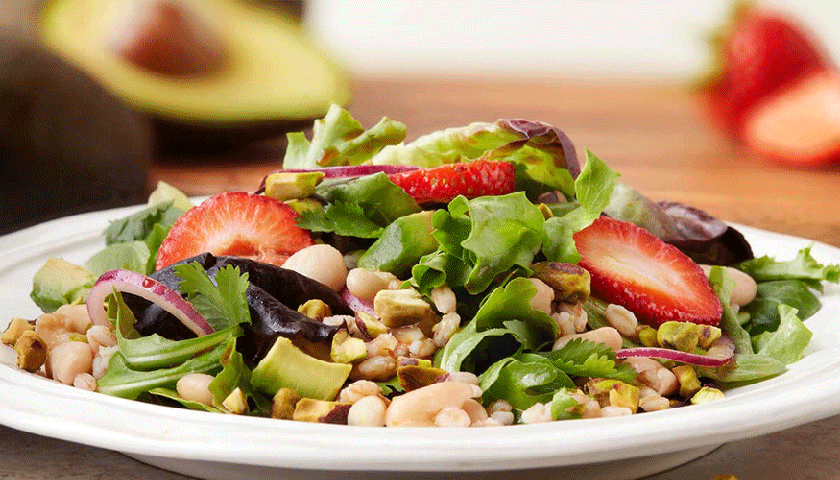 Strawberry-Pistachio Salad